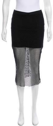 Mason Mesh Midi Skirt