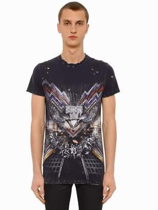 Balmain Printed Cotton Jersey T-Shirt