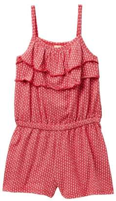 Harper Canyon Tiered Ruffle Romper (Toddler & Little Girls)