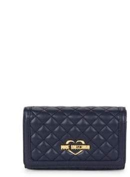 Love Moschino Superquilted Continental Wallet