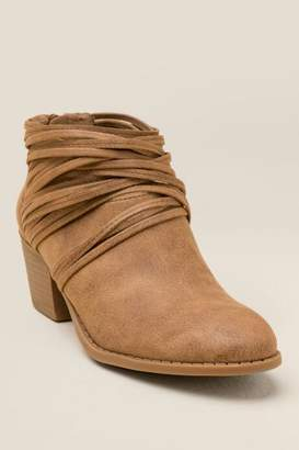 Fergalicious Barley Multi Strap Ankle Boot - Sand