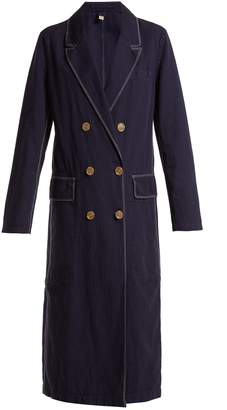 Burberry Parwood double-breasted cotton-blend coat