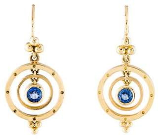 Temple St. Clair 18K Sapphire Piccolo Tolomeo Earrings