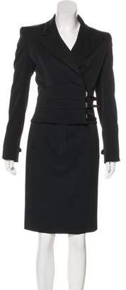 Saint Laurent Wool Skirt Suit