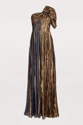 Peter Pilotto Silk-blend gown