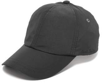 Paul Smith Logo Embroidered Technical Fabric Cap - Mens - Black