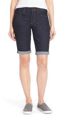 NYDJ Briella Stretch Roll Cuff Denim Shorts (Petite)