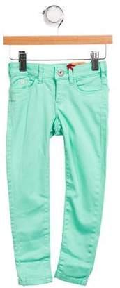 Scotch & Soda Girls' Skinny Mid-Rise Jeans w/ Tags