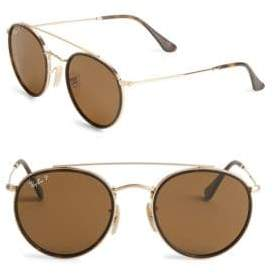 Ray-Ban Aviator Round Metal Frame Sunglasses