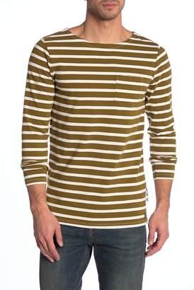 Scotch & Soda Stripe Crew Neck Pullover