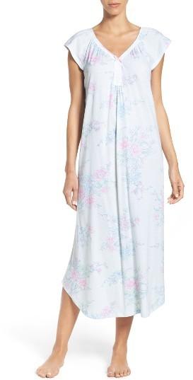 Carole HochmanWomen's Carole Hochman Long Cotton Nightgown