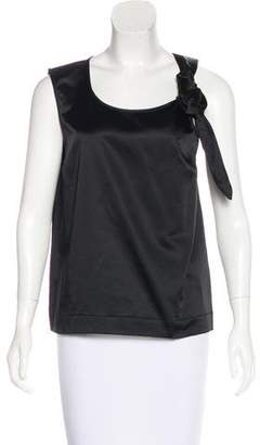 Isa Arfen Knot-Accented Sleeveless Top w/ Tags
