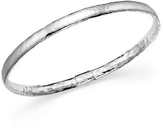 Ippolita Sterling Silver Basic Hammered Bangle