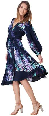 Hale Bob Yael Wrap Dress