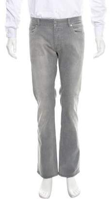 Prada Distressed Relaxed-Fit Jeans
