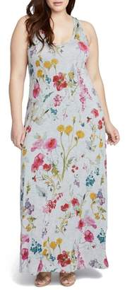 Rachel Roy Floral Print Maxi Dress