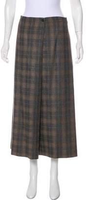 eskandar Cashmere Midi Skirt