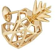 Natasha Zinko Women's Pineapple Stud Earring - Gold