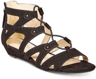 Callisto Lexx Gladiator Wedge Sandals Women's Shoes