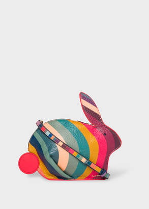 Paul Smith Women's 'Swirl' Print Leather 'Rabbit' Cross-Body Bag