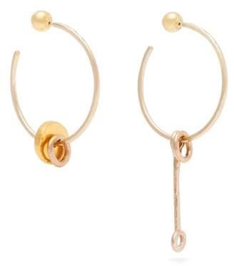 Sonia Boyajian - Alice Bronze Hoop Earrings - Womens - Gold