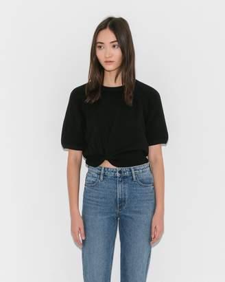 Alexanderwang.T Black Pullover w/Twist Detail