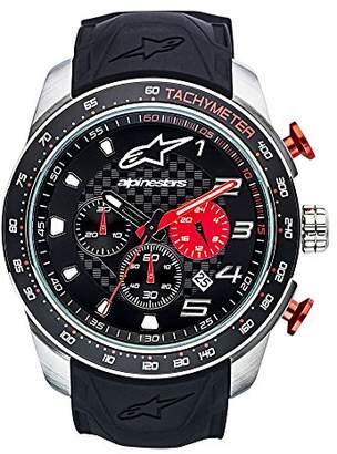 Alpinestars Mens Chronograph Quartz Watch with Silicone Strap 1037-96000