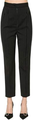 Dolce & Gabbana Pinstriped Stretch Cool Wool Pants