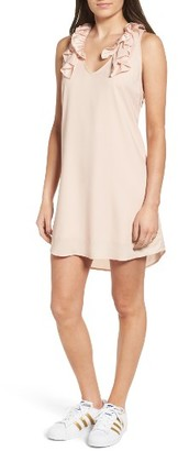 Women's Leith Ruffle Slipdress $65 thestylecure.com
