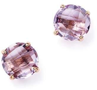 Bloomingdale's Rose Amethyst Briolette Stud Earrings in 14K Rose Gold - 100% Exclusive