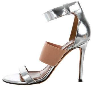 Givenchy Metallic Multistrap Sandals