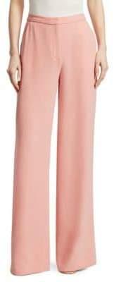Elizabeth and James Women's Harwin Wide Leg Trousers - Dahlia - Size 4