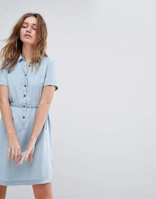 Jack Wills Lowestoft Tencel Soft Shirt Dress