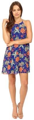 Brigitte Bailey Macen Spaghetti Strap Floral Dress Women's Dress
