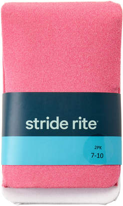 Stride Rite Girls 7-16) Two-Pack Tights