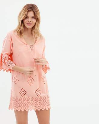 Seafolly Broderie Cover Up
