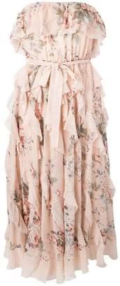 Zimmermann floral print midi dress