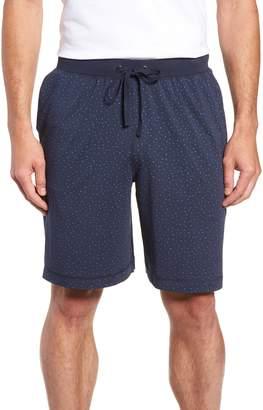 Daniel Buchler Print Cotton Blend Lounge Shorts