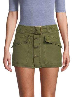Free People Classic Cotton Mini Skirt