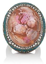 Sevan Biçakci Women's Cherubs Intaglio Ring - Turquoise