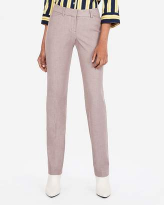 Express Low Rise Straight Editor Pant