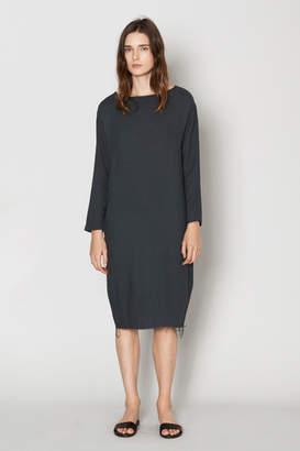 Black Crane Slim Dress