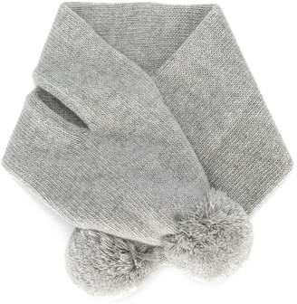 Il Gufo pom pom scarf