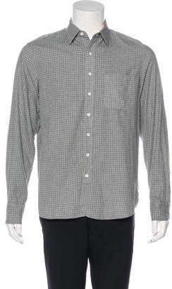 Rag & Bone Woven Check Shirt