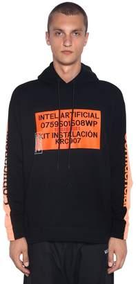 Marcelo Burlon County of Milan Contaminacion Print Sweatshirt Hoodie