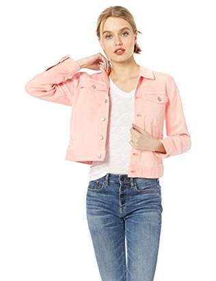 J.Crew Mercantile Women's Cropped Garment-Dyed Denim Jacket,M