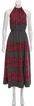 Robert Rodriguez Printed Maxi Dress w/ Tags