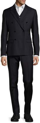 Dolce & Gabbana Men's Textured Double-Breasted Suit