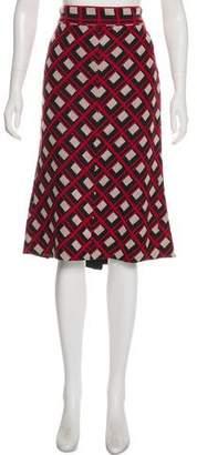 Diane von Furstenberg Berbenner Patterned Skirt