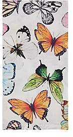 Deborah Rhodes Butterfly Linen Napkin
